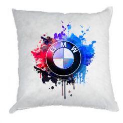 Подушка BMW logo art 2