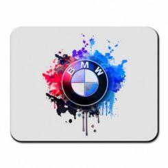 Килимок для миші BMW logo art 2