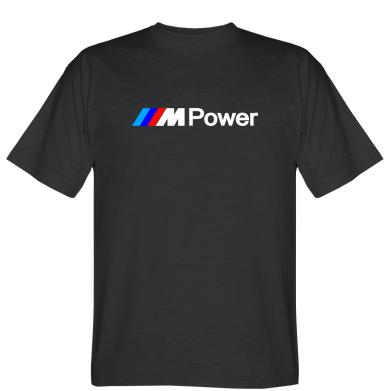 Футболка BMW M Power logo