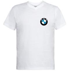 Чоловічі футболки з V-подібним вирізом BMW малих