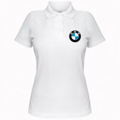 Жіноча футболка поло BMW малих