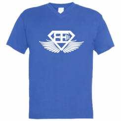 Чоловіча футболка з V-подібним вирізом Body Engineers