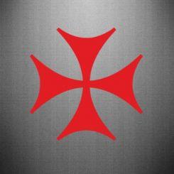 Наклейка Болниський хрест