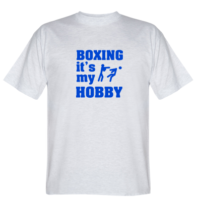 Футболка Boxing is my hobby