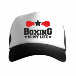 Кепка-тракер Boxing is my life