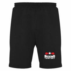 Чоловічі шорти Boxing is my life