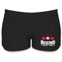 Жіночі шорти Boxing is my life