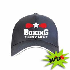 Дитяча кепка Boxing is my life