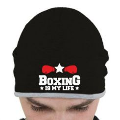 Шапка Boxing is my life