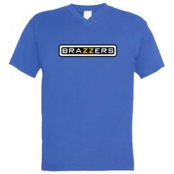 Чоловічі футболки з V-подібним вирізом Brazzers