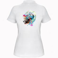 Жіноча футболка поло Брейк Арт