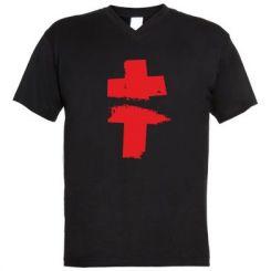Чоловічі футболки з V-подібним вирізом Brutto