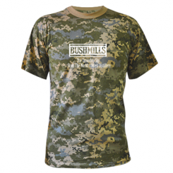 Камуфляжна футболка Old Bushmills Brand