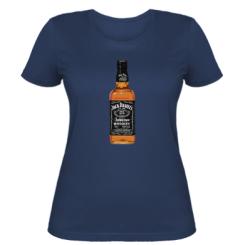 Жіноча футболка Пляшка Джек Деніелс