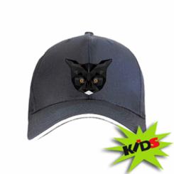 Дитяча кепка Cat Poly Art