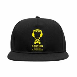 Снепбек Caution! Gaming in progress
