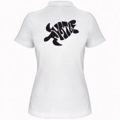 Купити Жіноча футболка поло Черепаха