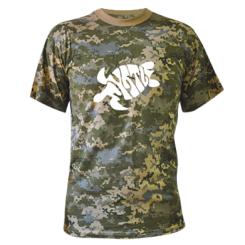 Купити Камуфляжна футболка Черепаха