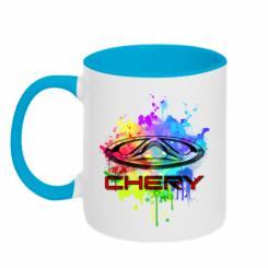 Кружка двокольорова Chery Art