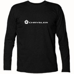 Футболка з довгим рукавом Chrysler Logo