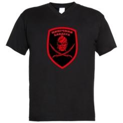 Купити Чоловічі футболки з V-подібним вирізом Цинічний Бандера