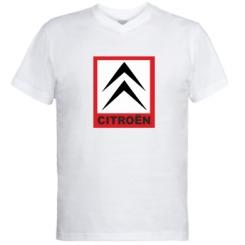 Купити Чоловічі футболки з V-подібним вирізом Citroen