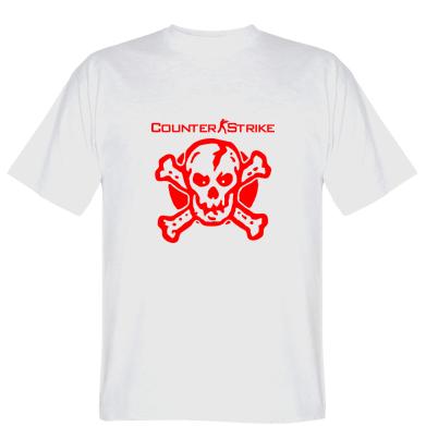 Футболка Counter Strike череп