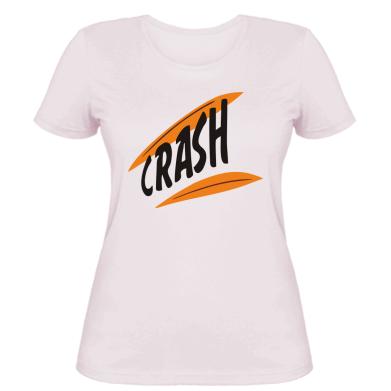 Жіноча футболка Crash