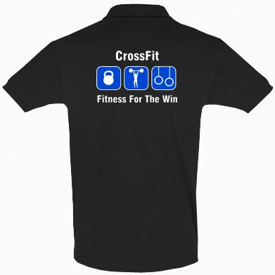 Купити Футболка Поло Crossfit Fitness For The Win