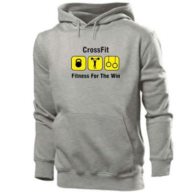 Купити Толстовка Crossfit Fitness For The Win