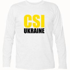 Футболка з довгим рукавом CSI Ukraine