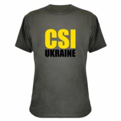 Камуфляжна футболка CSI Ukraine