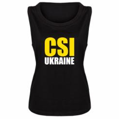 Майка жіноча CSI Ukraine