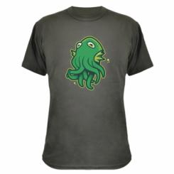 Камуфляжна футболка Cute Octopus
