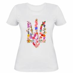 Жіноча футболка Квітучий герб