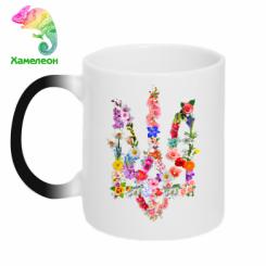 Кружка-хамелеон Квітучий герб