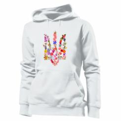 Толстовка жіноча Квітучий герб