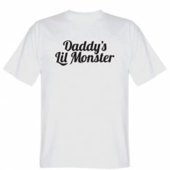 Футболка Daddy's Lil Monster