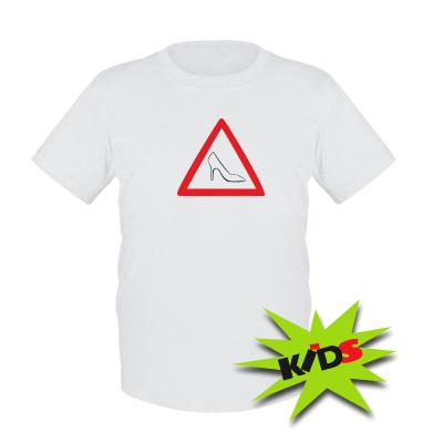 Купити Дитяча футболка Дама за кермом