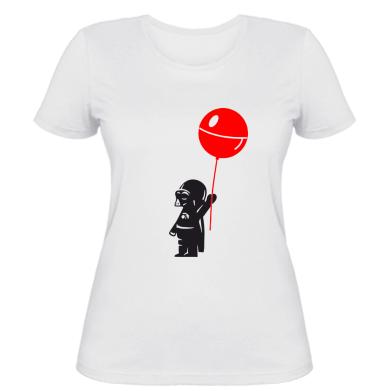 Жіноча футболка Дарт Вейдер з кулькою