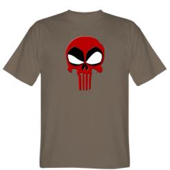 Футболка Deadpool Skull