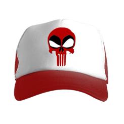 Кепка-тракер Deadpool Skull