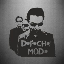 Наклейка Depeche Mode Band