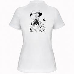 Купити Жіноча футболка поло Десантник