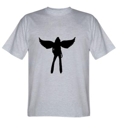 Футболка Дівчина-ангел