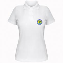 Купити Жіноча футболка поло Динамо Київ