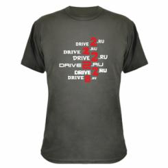 Камуфляжна футболка Drive2.ru
