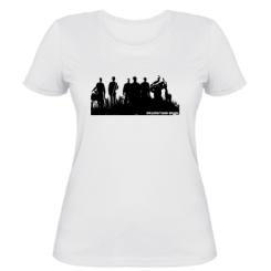Жіноча футболка Drum&Tuba