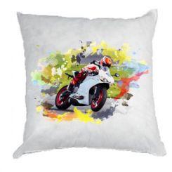 Подушка Ducati Art