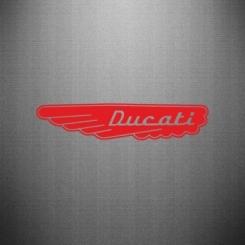 Наклейка Ducati Motors